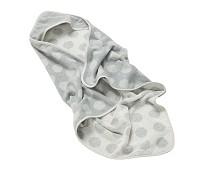 Grått hettehåndkle - Leander