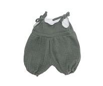 Grønn jumpsuit, dukkeklær 38-41cm - By Astrup
