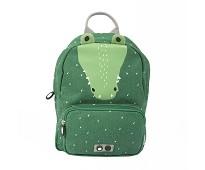 Grønn ryggsekk med krokodille - Trixie