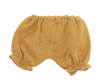 Gul bukse, dukkeklær 38-41cm - By Astrup