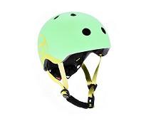 Lysegrønn hjelm fra Scoot & Ride, XS (45 - 51 cm)