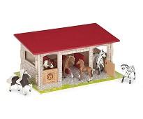 Stall til hester - Papo