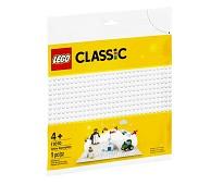 LEGO Classic Hvit basisplate 11010
