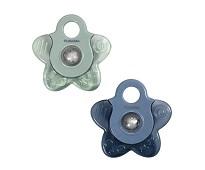 Kjølende biteleke, blå stjerne, 2stk - Filibabba