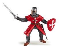 Ridder av Malta miniatyrfigur - Papo
