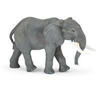 Afrikansk elefant miniatyrfigur - Papo