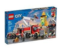 LEGO City Brannvesenets kommandoenhet 60282