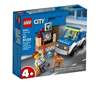 LEGO City Politiets hundepatrulje 60241