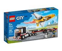 LEGO City Semitrailer med oppvisningsfly 60289