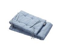 Dus blå sengekant til babyseng - Leander