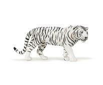Hvit tiger miniatyrfigur - Papo