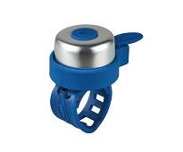 Mørkeblå og sølvfarget ringeklokke - Micro