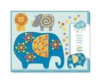 Mosaikksett med jungeldyr - Djeco