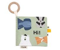 Myk babybok med søte dyr - Trixie