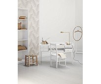 Hvitt juniorskrivebord fra Oliver Furniture