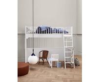 Seaside hvit høyseng fra Oliver Furniture