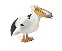 Pelikan, miniatyrfigur fra Papo