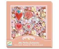 Perler i rosatoner, 285 perler - Djeco