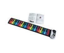 Piano med fargekode, sammenrullbart