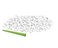 Pixelperler 150 stk, hvit - BiOBUDDi