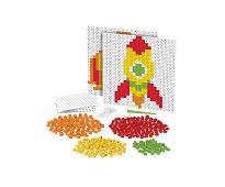 Pixelperler, fisk og rakett - BiOBUDDi