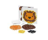 Pixelperler, løve og hund- BiOBUDDi
