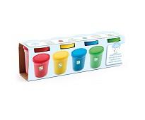 Plastelina i fire farger - Djeco
