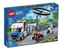 LEGO City Politiets helikoptertransport 60244