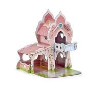 Prinsesseslott i solid kartong - Papo