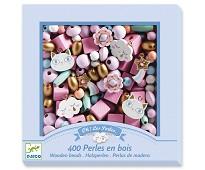 Rosa perler i tre - Djeco