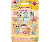Samlefigur serie 4 Baby party - Sylvanian Families