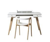 Wood junior skrivebord og stol - Oliver Furniture
