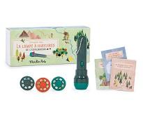 Skog, lommelykt som viser lysbilder - Moulin Roty