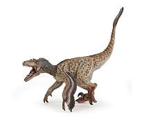 Velociraptor med fjær miniatyrfigur - Papo