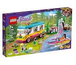 LEGO Friends Bobil og seilbåt 41681