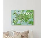 Plakat og klistremerker, fotball - Poppik