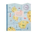 Fargeleggingsbok, utforsk verden - Moulin Roty
