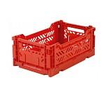 Foldbar oppbevaringskasse Red 27x17 - Aykasa