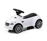 Hvit Mercedes gåbil