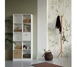 Hylle 2x5 med sokkel, Wood - Oliver Furniture