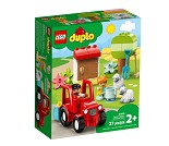 LEGO DUPLO Bondegård med traktor og dyr 10950