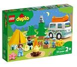 LEGO DUPLO Familie med campingbil 10946