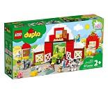 LEGO DUPLO Låve, traktor og bondegårdsdyr 10952