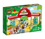 LEGO DUPLO Stall med ponni 10951