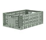 Foldbar oppbevaringskasse Almond Green 60x40