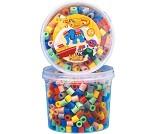 Maxiperler i boks, 600 perler - Hama