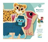 Magneter med ville dyr - Djeco