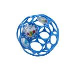 Oball babyball med rangle, blå