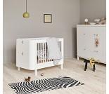 Hvit barneseng Mini+, Oliver Furniture