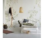 Wood hvit sofaseng fra Oliver Furniture